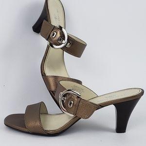 AK Anne Klein iFlex Slip-On Sandal Heels